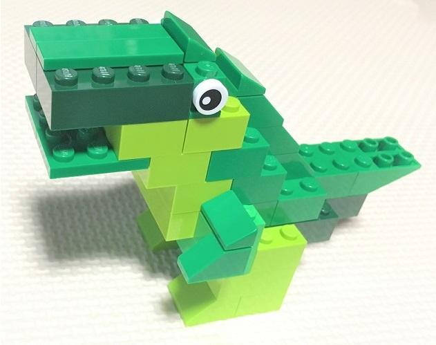 レゴクラシック 10698 恐竜の作り方 オリジナルレシピ