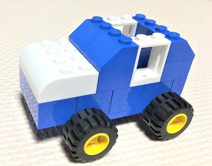 レゴクラシック10698 車の作り方