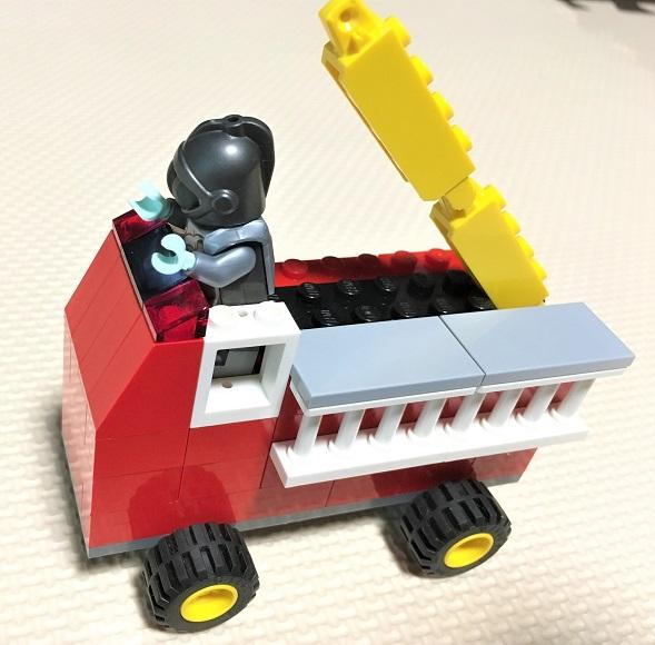 レゴ 消防車 オリジナルレシピ