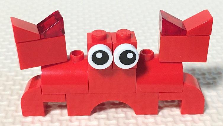 レゴ カニの作り方